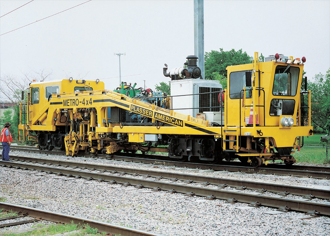 Plasser American Machines Amp Systems Tamping
